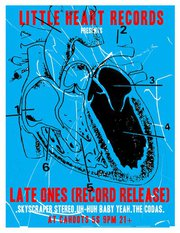 Little Heart Records Showcase flyer