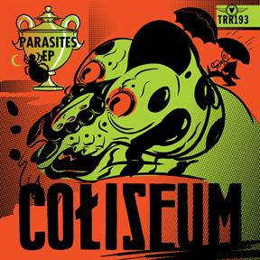 Coliseum - Parasites EP cover